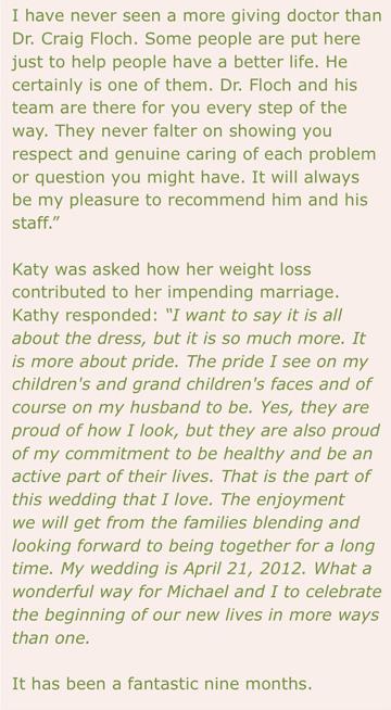 Kathys Testimonial