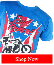 Tribut - Evel Knievel - Spangled tee
